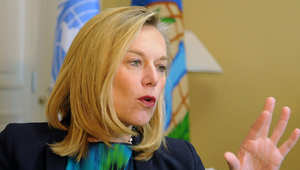 تولت الهولندية سيغريد كاغ مهمة تدمير ترسانة سوريا من الأسلحة الكيماوية لتسعة أشهر