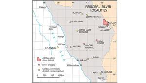 السعودية تدرس مشاريع تعدين جديدة.. شاهد مواقع أكبر مناجم الفضة بالمملكة