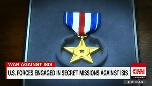 """""""جوائز بسالة"""" ومكافآت للشجاعة لمهمات سرية أمريكية ضد داعش"""