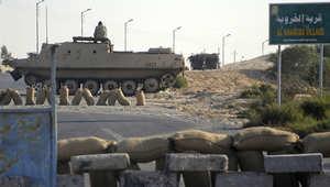 """جيش مصر يؤكد مقتل """"إرهابيين"""".. أحدهما """"أول منتحر"""" والثاني ضحى به """"بيت المقدس"""""""