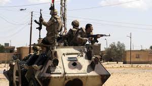 """مقتل 252 """"إرهابياً"""" خلال 11 يوماً.. وحظر سير سيارات الدفع الرباعي بسيناء"""