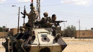"""جيش مصر يعلن مقتل 88 """"إرهابياً"""" خلال 12 يوماً بشمال سيناء"""
