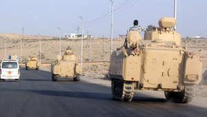 """جيش مصر يعلن انتهاء أولى مراحل """"حق الشهيد"""" بسيناء"""