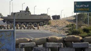 """الجيش المصري يعلن مقتل 29 """"تكفيرياً"""" بعملية """"حق الشهيد"""""""