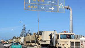 """مصر.. هجوم بقذائف صاروخية على قسم شرطة ومقتل 7 """"تكفيريين"""" في حملة أمنية بسيناء"""