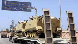 مصر.. مقتل 4 بينهم 3 مستشارين في هجوم بالعريش والسيسي يأمر بتشديد الحماية للقضاة