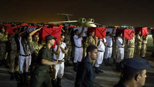 """مقتل شرطي مصري في هجوم جديد بسيناء والأمن يتعقب """"مسلحين مجهولين"""""""