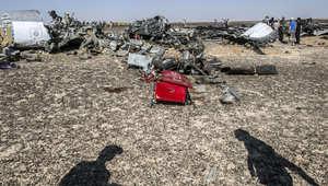 """مؤشرات على """"عمل إرهابي"""" تتزايد بكارثة الطائرة الروسية"""
