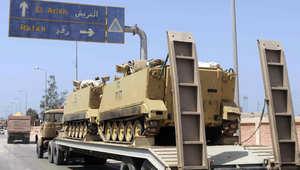 """مصر.. تصفية 11 """"تكفيرياً"""" وتدمير 3 أنفاق في حملة للجيش بشمال سيناء"""