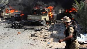"""أعلنت قوات البنيان المرصوص انتشال 266 جثة لمقاتلي """"داعش"""" من أماكن مختلفة"""