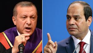 """الخارجية المصرية ترد على """"تطاول أردوغان على السيسي"""": يخلط بين الثورة الشعبية والانقلابات العسكرية"""