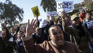 """""""الإخوان"""" تدعو لـ""""وحدة الثوار"""" بعد تبرئة مبارك: قضاء العسكر يحكم على شعب مصر بالإعدام"""