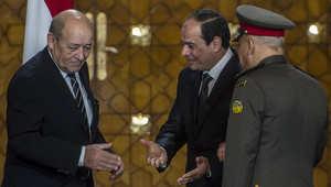 عرض فرنسي للتعاون مع البحرية المصرية في بناء السفن