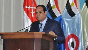 """السيسي يفند """"مزاعم"""" مقتل جنود """"مذبحة الشيخ زويد"""" في ليبيا: """"الإخوان"""" سعوا لإراقة الدماء"""