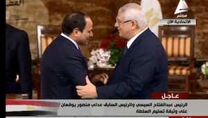 100 يوم على رئاسة السيسي لمصر في 6 صور