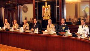 السيسي يترأس اجتماعاً للمجلس الأعلى للقوات المسلحة