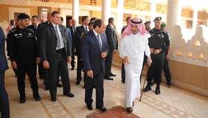 بالصور.. قمة مصرية سعودية مفاجئة خلال زيارة السيسي الخاطفة للرياض