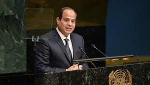 """السيسي: مشكلة """"الإخوان"""" ليست مع الحكومة وإنما مع المصريين"""