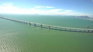 في الصين..أطول جسر بحري بالعالم بكلفة 20 مليار دولار