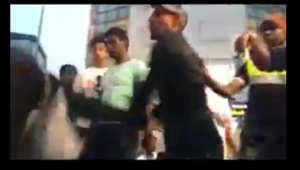 لقطة من الفيديو المتداول