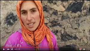 بالفيديو.. سقوط الثلوج يُفاقم من عزلة سكان قرى في المغرب