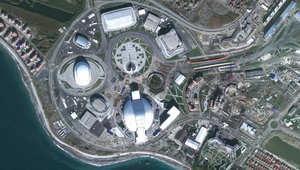 شاهد مراحل بناء القرية الأولمبية في سوتشي