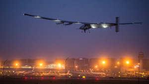 """الطائرة """"سولار إمبلس"""" تبدأ رحلة ماراثونية عبر المحيط الهادئ من نانجينغ إلى هاواي"""