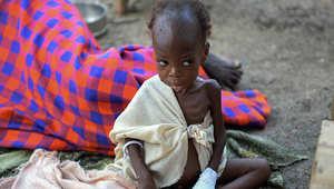قد تحصد المجاعة في جنوب السودان أرواح أكثر من 50 ألف طفل