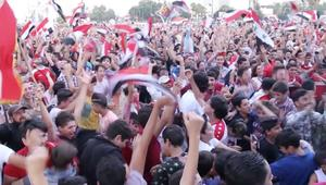 شاهد.. احتفالات السوريين بالتعادل مع أستراليا