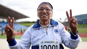 سيدة بعمر 101 عام تفوز ببطولة 100 متر جري