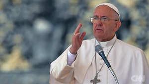 بعد تهديدات داعش بالوصول إلى روما.. بابا الفاتيكان: هناك خطر بالتسلل بين اللاجئين.. ولم يقل أحد بأن روما محصنة ضد هذه التهديدات