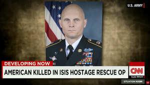 تفاصيل جديدة بالعملية الأمريكية المشتركة بالعراق.. ومسؤول يؤكد لـCNN هوية الجندي الأمريكي المقتول بنيران داعش