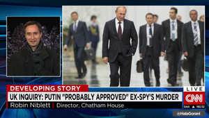 مقتل الجاسوس الروسي السابق ليتفينينكو.. محلل لـCNN: إدراج التحقيق لاسم بوتين يعني وجود دليل قوي على تورطه