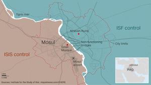 مسؤول عراقي لـCNN: نبعد كيلومترا عن حي الدواسة غرب الموصل