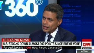 """فريد زكريا عن """"خروج بريطانيا"""": تنسيق واشنطن مع لندن جعل العقوبات على إيران ورسيا ممكنا.. ومخاوف من ركود اقتصادي جديد"""