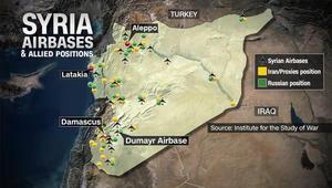محلل الشؤون العسكرية بـCNN: النظام السوري وروسيا يعيدان تمركزهما الدفاعي بعد كشف ترامب ردنا المحتمل على الكيماوي