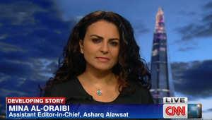 مينا العريبي تبين لـCNN كيف تنظر شعوب الشرق الأوسط وخصوصا بالعراق إلى الانتخابات الرئاسية الأمريكية 2016
