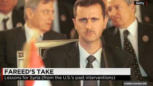 زكريا لـCNN: لنكن صريحين إذا سقط الأسد وسيطر الجهاديون على دمشق فالوضع سيكون أسوأ.. بوتين لديه استراتيجية واضحة وأمريكا والغرب بحالة ارتباك