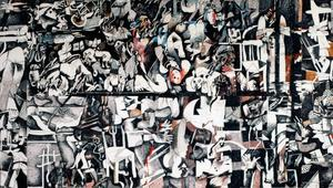 الفنان العراقي ضياء العزاوي يعكس المعاناة الإنسانية وعدم الاستقرار الإقليمي