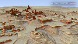 """اكتشاف آلاف الهياكل لحضارة """"المايا"""" باستخدام الليزر"""