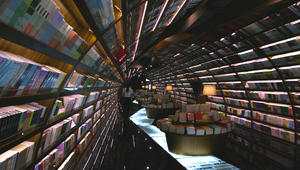 مكتبة على شكل دودة؟ قصص في قلب الجسم الحلزوني