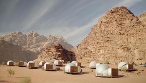 """""""فقاعات"""" من المستقبل تنتشر في وادي رم بالأردن"""