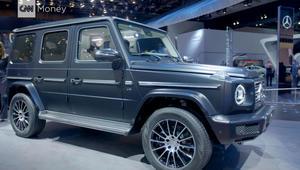 مرسيدس بنز G-Class بتصميم جديد بالكامل للمرة الأولى منذ 1979