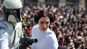 الأميرة ليا من شخصيات حرب النجوم