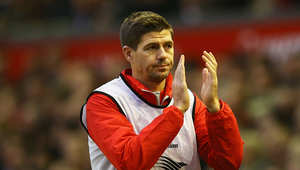 لاعب ليفربول والمنتخب الإنجليزي ستيفن جيرارد
