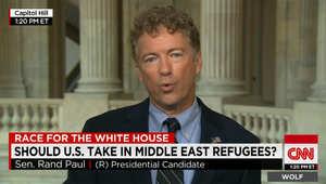 مرشح للرئاسة الأمريكية لـCNN: أوباما أخطأ بدخول الحرب الأهلية بسوريا إلى جانب داعش والقاعدة ضد الأسد.. وعلينا الحذر من حجم اللاجئين