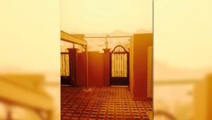 صور من أبوظبي للعاصفة الرملية