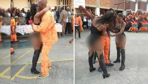 راقصات التعري تثرن الجدل بعد مشاركتهن باحتفال في سجن بجنوب أفريقيا