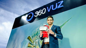 """""""360VUZ"""".. تطبيق يجمع ما بين """"سناب تشات"""" والواقع الافتراضي"""