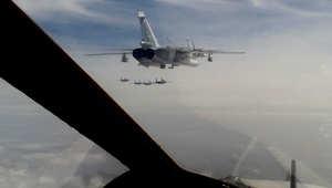 """روسيا تحمّل """"الناتو"""" مسؤولية إسقاط القاذفة """"سو -24"""" في سوريا"""